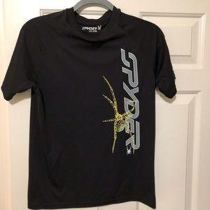 Spyder Designer polyester black shirt M-L